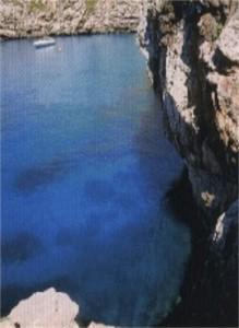 Blick vom Ferienhaus Mallorca nach unten in die Bucht © Ricarda Brzuska